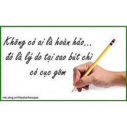 Vì sao bút chì có tẩy?